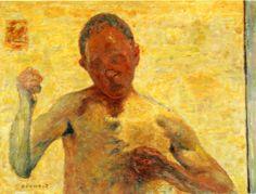 Self Portrait via Pierre Bonnard
