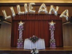 quinceanera hall decorations | Picture: Quinceaneras Balloons provided by Balloon Creations by ...
