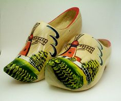 traditional wooden shoe