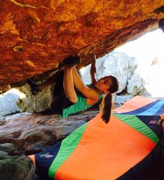 www.boulderingonline.pl Rock climbing and bouldering pictures and news Brooke Raboutou send