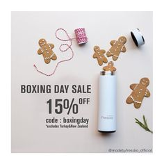 SALE SALE SALEIf you didn't get what you really wanted from Santa  now is your chance!  - BPA FREE - 2 in 1 INFUSER - VACUUM SEALED - FOR TEA COFFEE DETOX WATERS  15 % OFF STOREWIDE TODAY!  shop via the link in bio  Use code : BOXINGDAY
