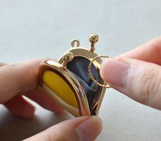 がま口ジュエリーケース 【mederu jewelry】