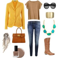 Yellow Jacket, created by miss-zest.polyvore.com
