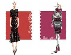 Pantone's Top 10 Women's and Men's Colors for Fall Winter 2014 2015 (IV) l #color #fashion