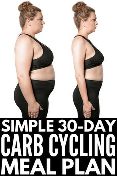 The Carb Cycling Diet for Beginners If you want to know what carb cycling is, what foods you should eat and avoid while on the carb cycling diet, why it's great for weight loss for women, and the best meal plan recipes for beginners, we're sharing all o Diet And Nutrition, Nutrition Guide, Nutrition Shakes, Nutrition Education, Diet Plans To Lose Weight, How To Lose Weight Fast, Losing Weight, Weight Gain, Lose Fat