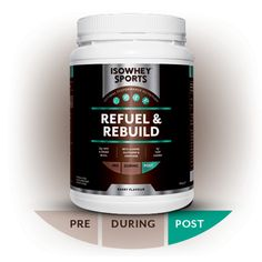 IsoWhey® Sports Refuel & Rebuild - Post Workout & Recovery - Supplements/Nutrition