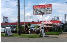 Tacoma Boys.  They do a nice job of carrying products made by local companies.  Awesome cider, beer, and wine selection.
