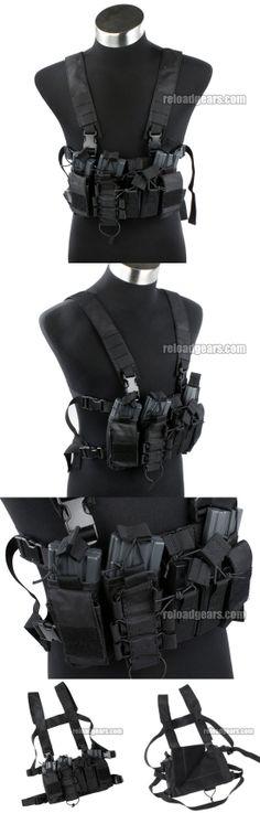 TMC D-Mittsu D3 Tactical Chest Rig (Black) [TMC2077-BK] - $49.99 : Reload Gears, Combat Gears Airsoft Parts and RC 1 10 Car Parts
