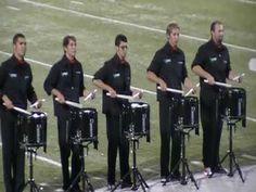 UNT Snare Ensemble 2009 at Lonestar Drumline Classic