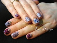 basket weave and glitter