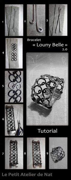 """TUTO BRACELET ALUMINUM WIRE (link) 