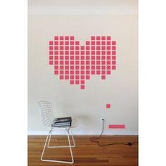 Blik Wall Decal - Heart Breakout #stickwithblik