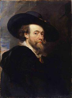 "Peter Paul Rubens, ""Self-portrait"" on ArtStack #peter-paul-rubens #art"