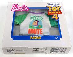 Barbie Fashionistas Toy Story 4 White Top Buzz Rangers Unite Graphic New