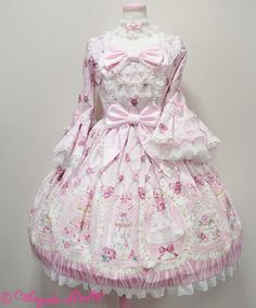 Lolibrary | Angelic Pretty - OP - Salon de thé Rose OP
