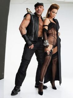 The infamous Thierry Mugler and Beyonce. #CelebDesigner #Fabulous #Fashionfierce