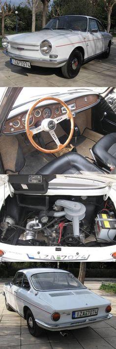 1967 Simca 1000S Bertone Coupe