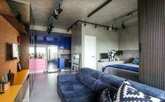 Apartamento loft Brooklin  (Foto: André Laiza/divulgação)
