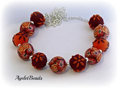 A fantastic bead bracelet by Ayelet Beads.