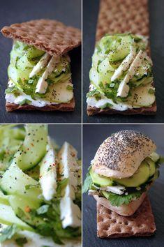 Petit sandwich d'été