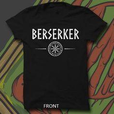 Berserker Shirt, Hoodie, or Tank - Viking Merch  - 1
