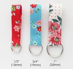 Image of Fabric Zip Pulls PDF Sewing Pattern