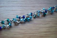 How to Make a Beaded Chain Bracelet with Step-by-Step Pictures