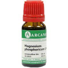 MAGNESIUM PHOSPHORICUM Arcana LM 6 Dilution:   Packungsinhalt: 10 ml Dilution PZN: 07540998 Hersteller: ARCANA Dr. Sewerin GmbH & Co.KG…