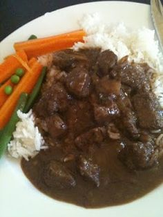 Forum Thermomix - The best Thermomix recipes and community - Gourmet Beef Casserole - with photo Wrap Recipes, Gourmet Recipes, Dinner Recipes, Cooking Recipes, Healthy Recipes, Cooking Ideas, Turkey Recipes, Beef Recipes, Beef Meals