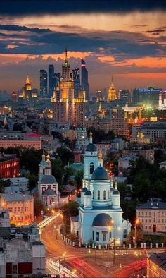 One day I would like to visit Russia. I love the culture and the language and I would like to experience the city itself to learn more of it.
