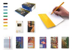 Custom Made Softcover Notebooks. The complete cover can be customized, we suggest to put your most populair image on the front. Finish the design by selecting a suitable colour for the elastic band (9 colours). Our design studio can help you create your own edition. Check our latest catalogue of custom made products: http://issuu.com/mauricedoorduyn/docs/lanzfeld_custom_made_catalogus_2014 #museumgifts #souvenirs #museumshop