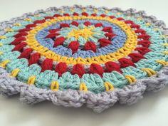 colorful anonymous crochet mandalas 8