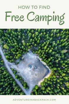 Finding free boondocking campsites in just 6 easy steps. Learn our tactics for finding beautiful free campsites all over the United States! Boondocking Campsites | Van Life | RV Boondocking | Free Camping | How to find Free Campsites #vanlife