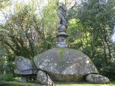 The Garden of Bomarzo, Viterbo, Italy