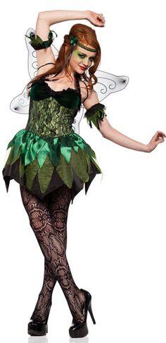 fairy Adult costume green