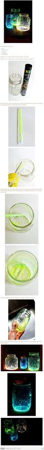 DIY Glow Jars Tutorial shinesariel  http://media-cache2.pinterest.com/upload/199636195952157233_mW3p30YW_f.jpg