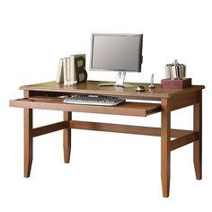 "realspace® coastal ridge writing desk, 31 1/8""h x 42""w x 24 1/2""d"