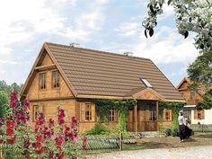 Domy drewniane deski elewacyjne szpak drs