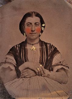 Susan Franklyn, English 1/9th-Plate Ruby Ambrotype, Circa 1856 ...