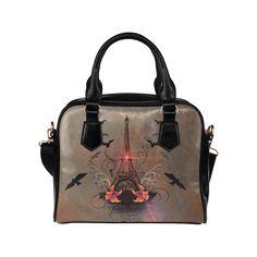 Eiffel tower Shoulder Handbag (Model 1634)