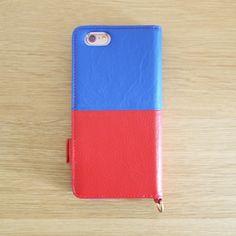 【本革 + 日本製 】絵になるオトナの iPhoneケース | iPhone 6/6s & Plus 対応 | Genuine Leather Wallet Case for iPhone 6 / 6s and iPhone 6 / 6s Plus.  Azur x Vin.