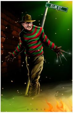 Freddy by Damon Bowie [©2016]                                                                                                                                                                                 More