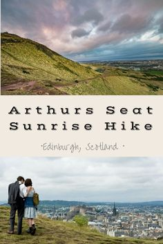 For the best views of Edinburgh, Scotland a hike up Arthurs Seat is a must!