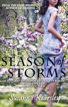 Season of Storms by Kearsley. Susanna Published by Allison & Busby (2011) Paperback by Kearsley. Susanna, http://www.amazon.ca/dp/B00GGWG6EA/ref=cm_sw_r_pi_dp_-cZYsb0S7TEDB