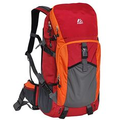 01a8b225b61 Everest Expedition Hiking Pack RedOrangeGray One Size   Visit the image  link more details. (