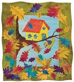 Laura Wasilowski –– Stitch new life into your fusible appliqué • 11 fun and easy projects-make an assortment of whimsical houses with full-size templates • Take your art quilts to the next level by ha