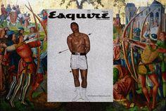 Des couvertures de magazines sur des peintures classiques couverture magazine mode peinture celebre 01 870x584
