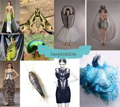 Frou-Frou : Le site d'inspirations et de DIY Illusion, Blog Couture, Natural Design, Fashion Details, Creations, Nature, Inspiration, Organic, Haberdashery