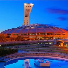 Stade Olympique; Montreal, Canada Montreal Quebec, Montreal Canada, Quebec City, O Canada, Canada Travel, Worldwide Photography, True North, France, Place Of Worship