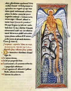 Hildegard of Bingen from the Scivias